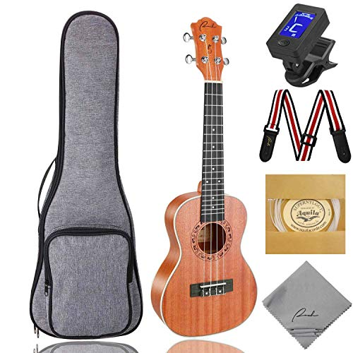 Ranch UK-23 Concert Ukulele Bundle