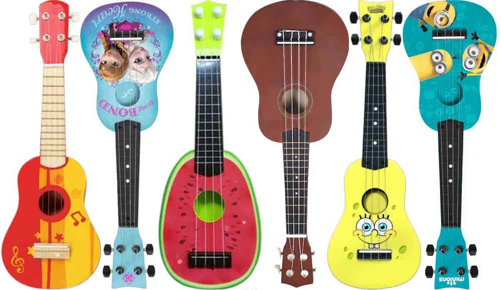 Cheap ukulele examples