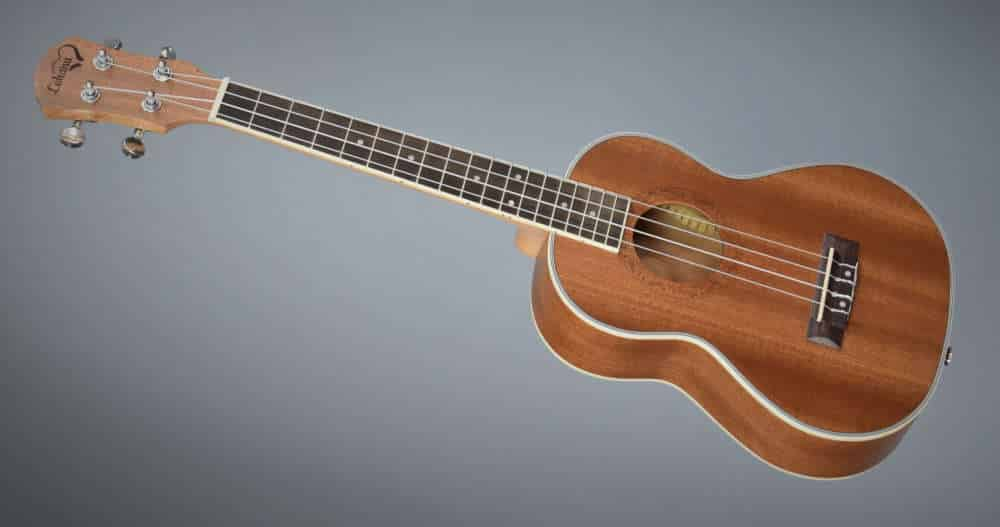 Lohanu ukulele review full body image