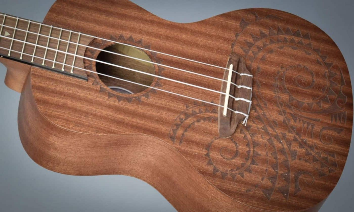 Luna Tattoo Ukulele Review - Featured Image - BeginnerUkuleles.com