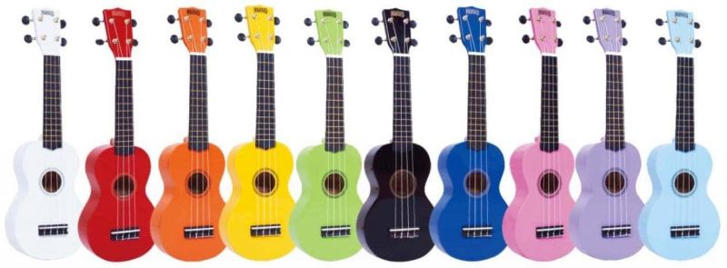 Mahalo Rainbow Series Ukuleles - All Colors