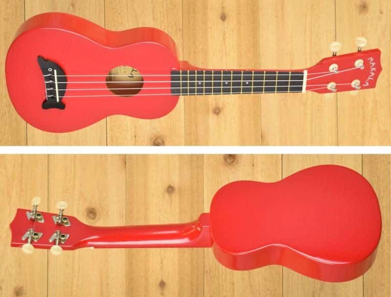 Makala Dolphin MK-SD Ukulele Review - Full Body Front and Back Horizontal